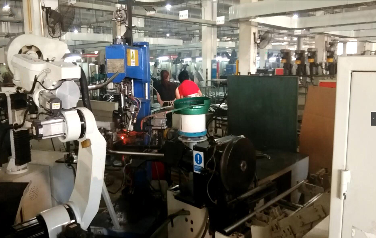 机器人自动弯管焊接 一体机
